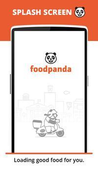 foodpanda plakat