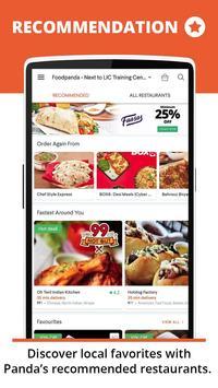 foodpanda screenshot 1