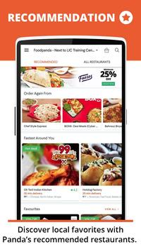 foodpanda captura de pantalla 1