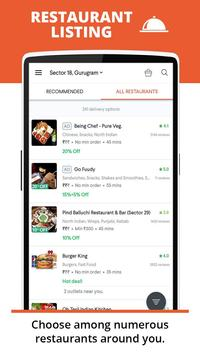 foodpanda captura de pantalla 2
