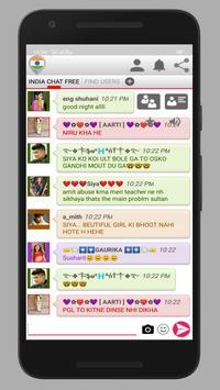 INDIA CHAT FREE screenshot 1
