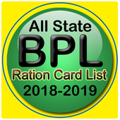 All India BPL Ration Card List 2018 2019 icon