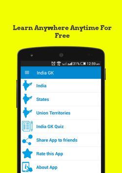 India GK poster