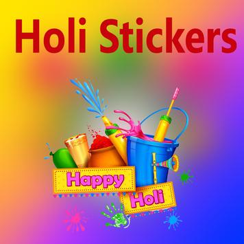 Holi Stickers poster