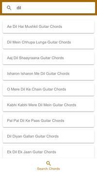 Bollywood Ultimate Guitar Chords (Ad Free) screenshot 1