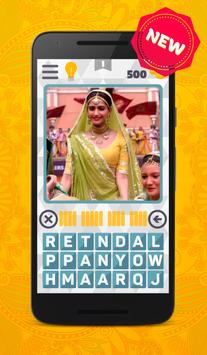 Bollywood movies actor puzzle poster