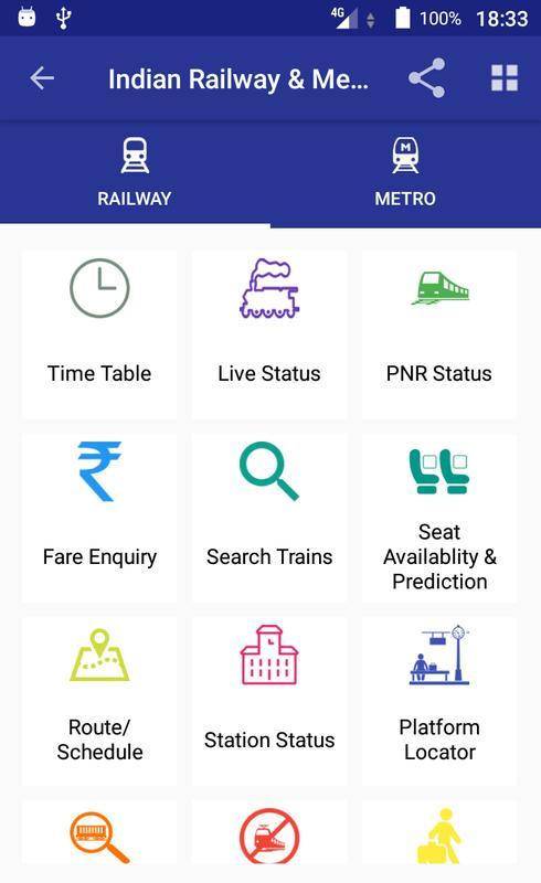 my train status