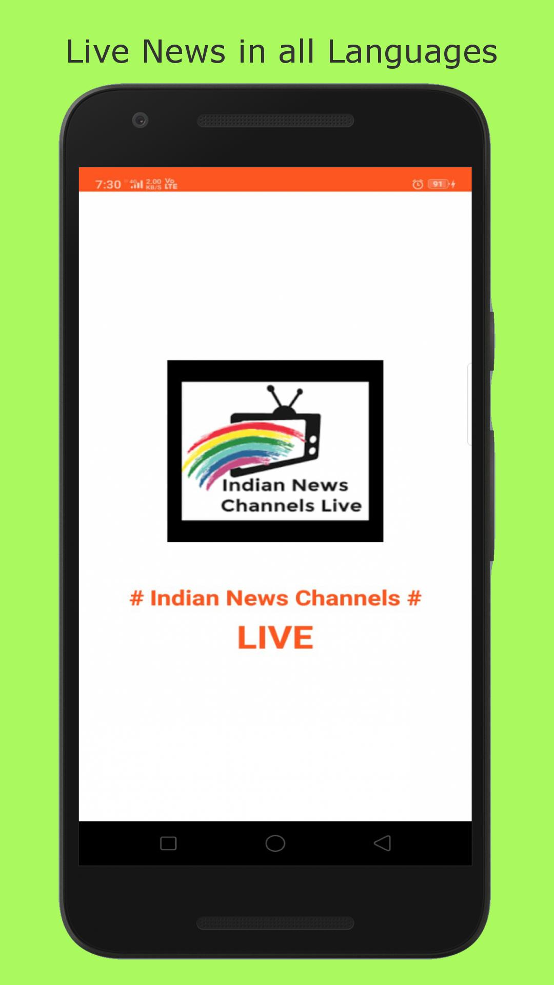 Indian News Channels-LIVE for Android - APK Download