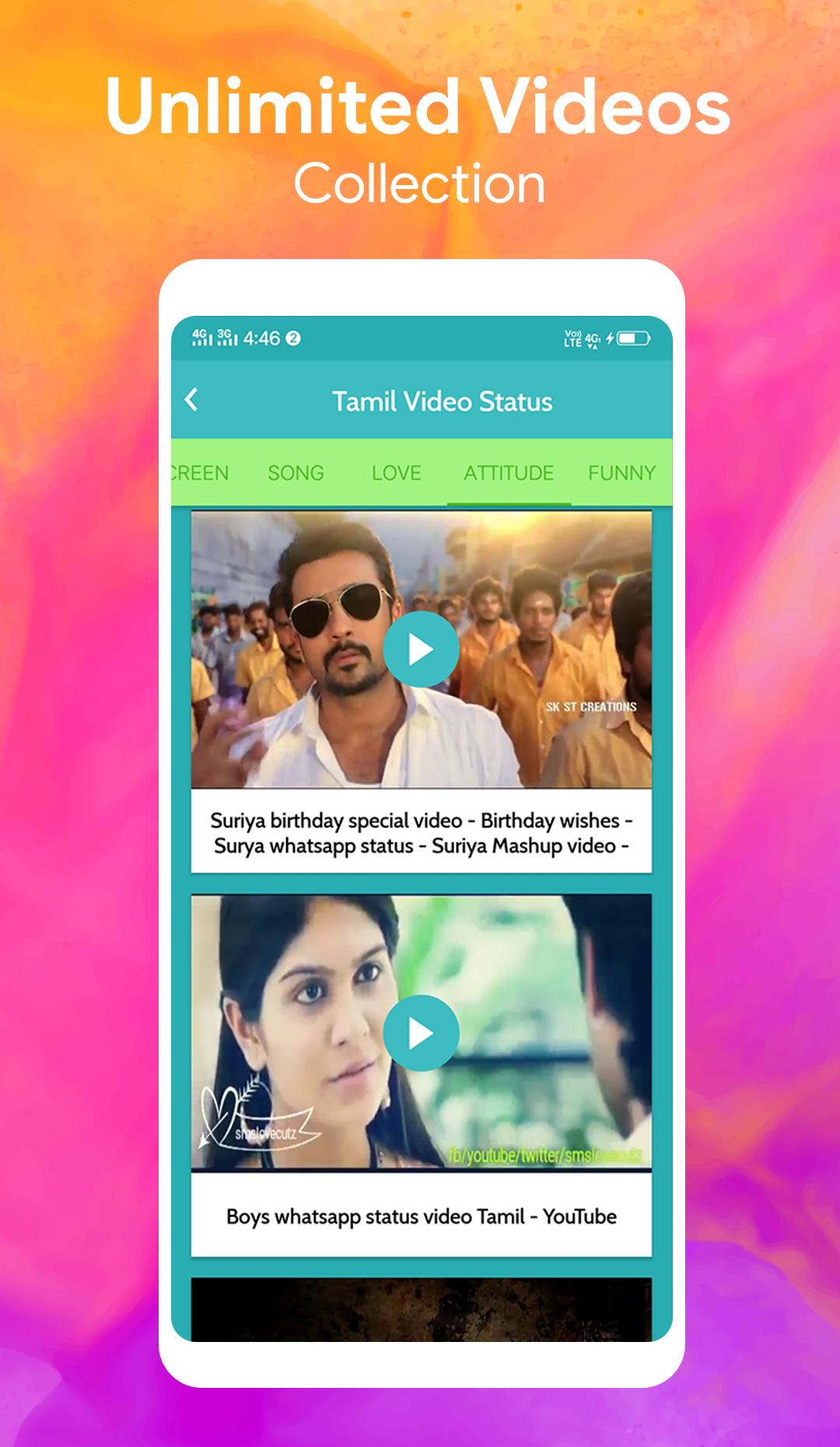 Tamil Video Status For What Apps For Android Apk Download