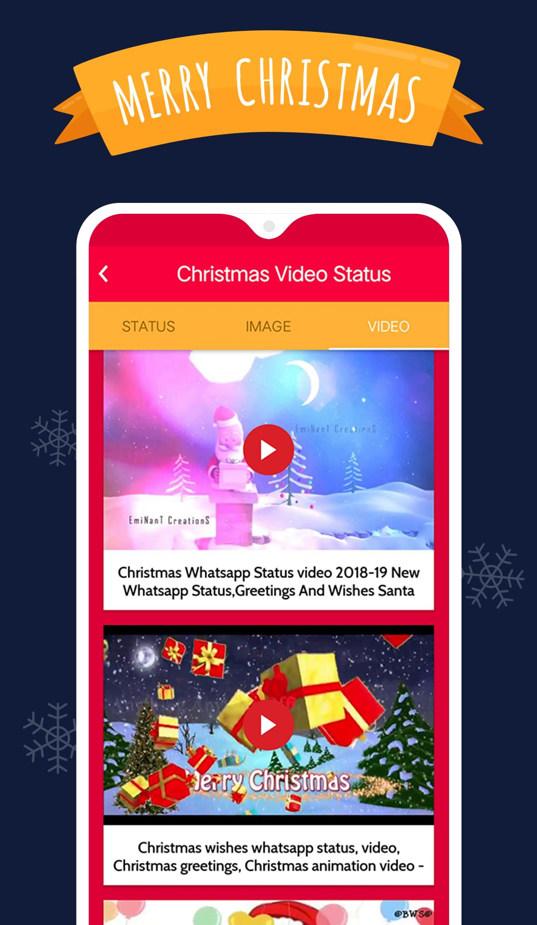 Happy Christmas Video And Status 2018 For Android Apk Download