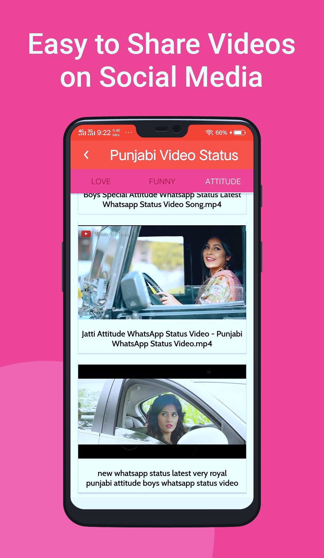 Punjabi Video Status Songs for Whatsapp for Android - APK