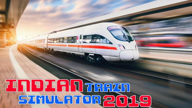 Indian Bullet Train Simulator Game - Train Games poster
