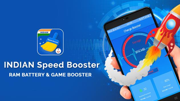 Indian Speed Booster nad Cleaner poster