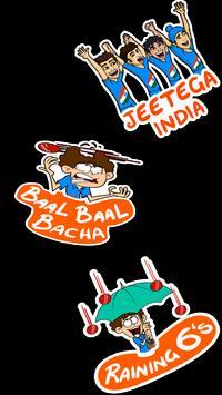 Indian Cricketer Sticker - WAStickerApps screenshot 2