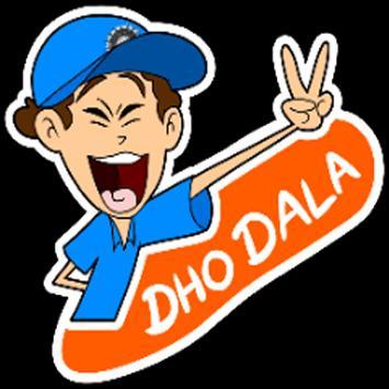 Indian Cricketer Sticker - WAStickerApps screenshot 5