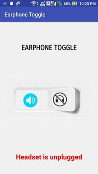 Earphone Toggle poster