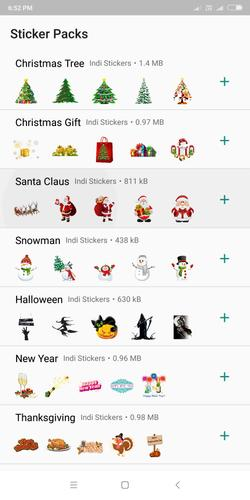 Christmas Stickers App for Android - APK Download