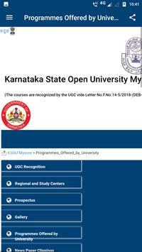 Karnataka State Open University screenshot 3