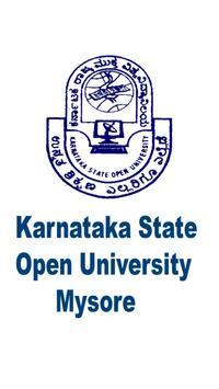 Karnataka State Open University poster