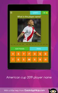 American cup Brasil 2019 superstar player screenshot 10