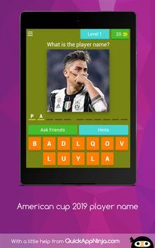 American cup Brasil 2019 superstar player screenshot 14