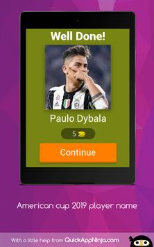 American cup Brasil 2019 superstar player screenshot 15