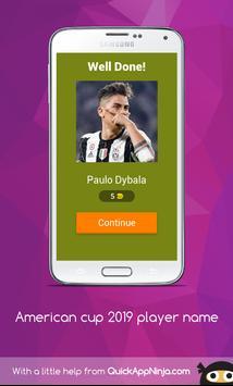 American cup Brasil 2019 superstar player screenshot 1
