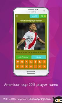 American cup Brasil 2019 superstar player screenshot 3