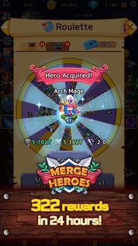 Merge Heroes Frontier: Casual RPG Online screenshot 3