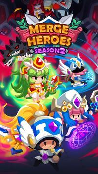 Merge Heroes Frontier: Casual RPG Online poster