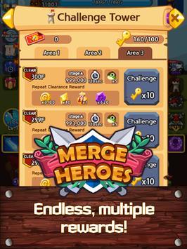 Merge Heroes Frontier: Casual RPG Online screenshot 13