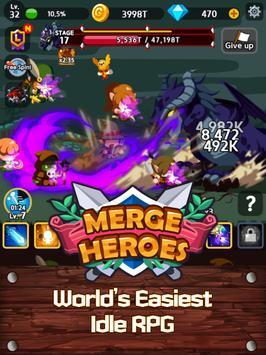 Merge Heroes Frontier: Casual RPG Online screenshot 10