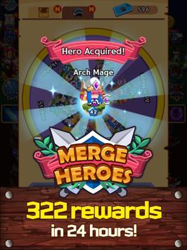 Merge Heroes Frontier: Casual RPG Online screenshot 12
