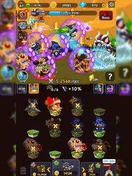 Merge Heroes Frontier: Casual RPG Online screenshot 14
