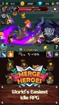 Merge Heroes Frontier: Casual RPG Online screenshot 18