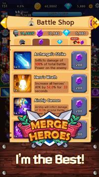 Merge Heroes Frontier: Casual RPG Online screenshot 22