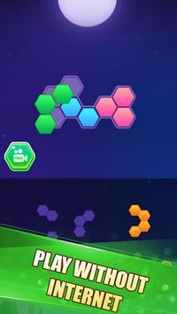 Hexa Block Puzzle! تصوير الشاشة 4