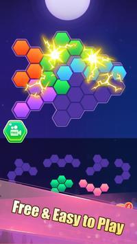 Hexa Block Puzzle! الملصق