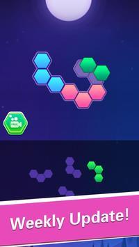 Hexa Block Puzzle! تصوير الشاشة 5