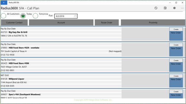 Radius360X.SFA screenshot 2