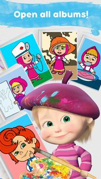 Masha and the Bear: Free Coloring Pages for Kids screenshot 3