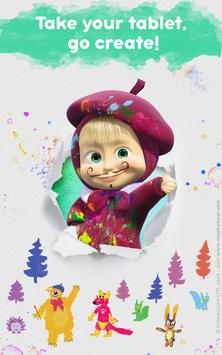Masha and the Bear: Free Coloring Pages for Kids screenshot 12