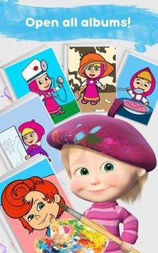 Masha and the Bear: Free Coloring Pages for Kids screenshot 14