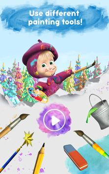 Masha and the Bear: Free Coloring Pages for Kids screenshot 15