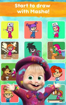 Masha and the Bear: Free Coloring Pages for Kids screenshot 20