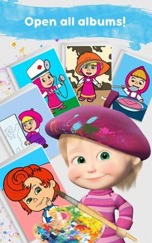 Masha and the Bear: Free Coloring Pages for Kids screenshot 23