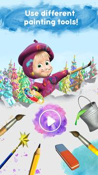 Masha and the Bear: Free Coloring Pages for Kids screenshot 7