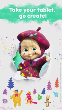 Masha and the Bear: Free Coloring Pages for Kids screenshot 5
