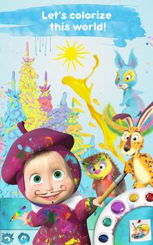 Masha and the Bear: Free Coloring Pages for Kids screenshot 8