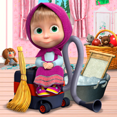Masha and the Bear: House Cleaning Games for Girls icon